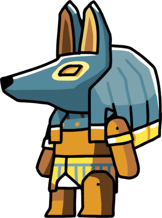 Scribblenauts wiki fandom powered. Egypt clipart egyptian anubis