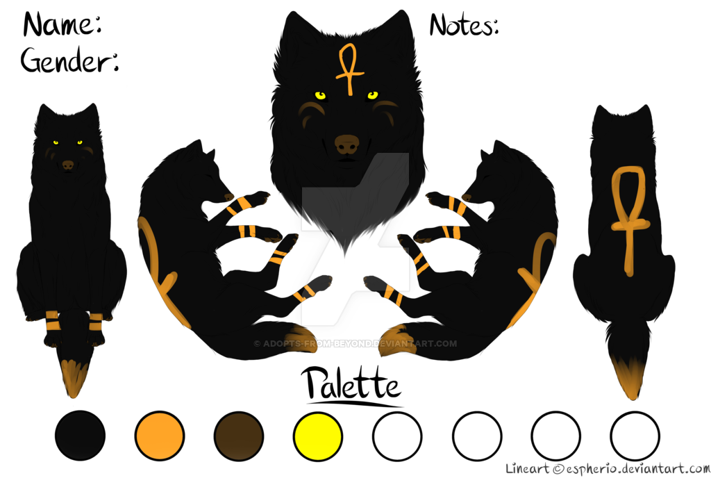 Egypt clipart egyptian cat. God wolf adopt closed