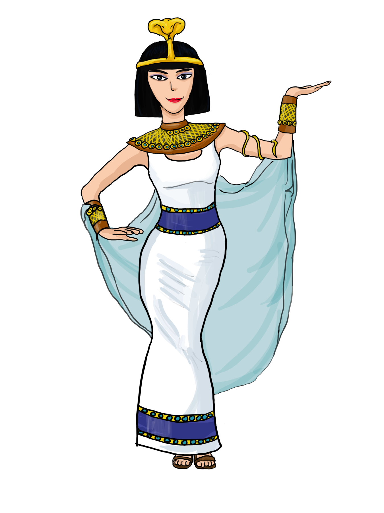 collection of ancient. Egypt clipart egyptian character
