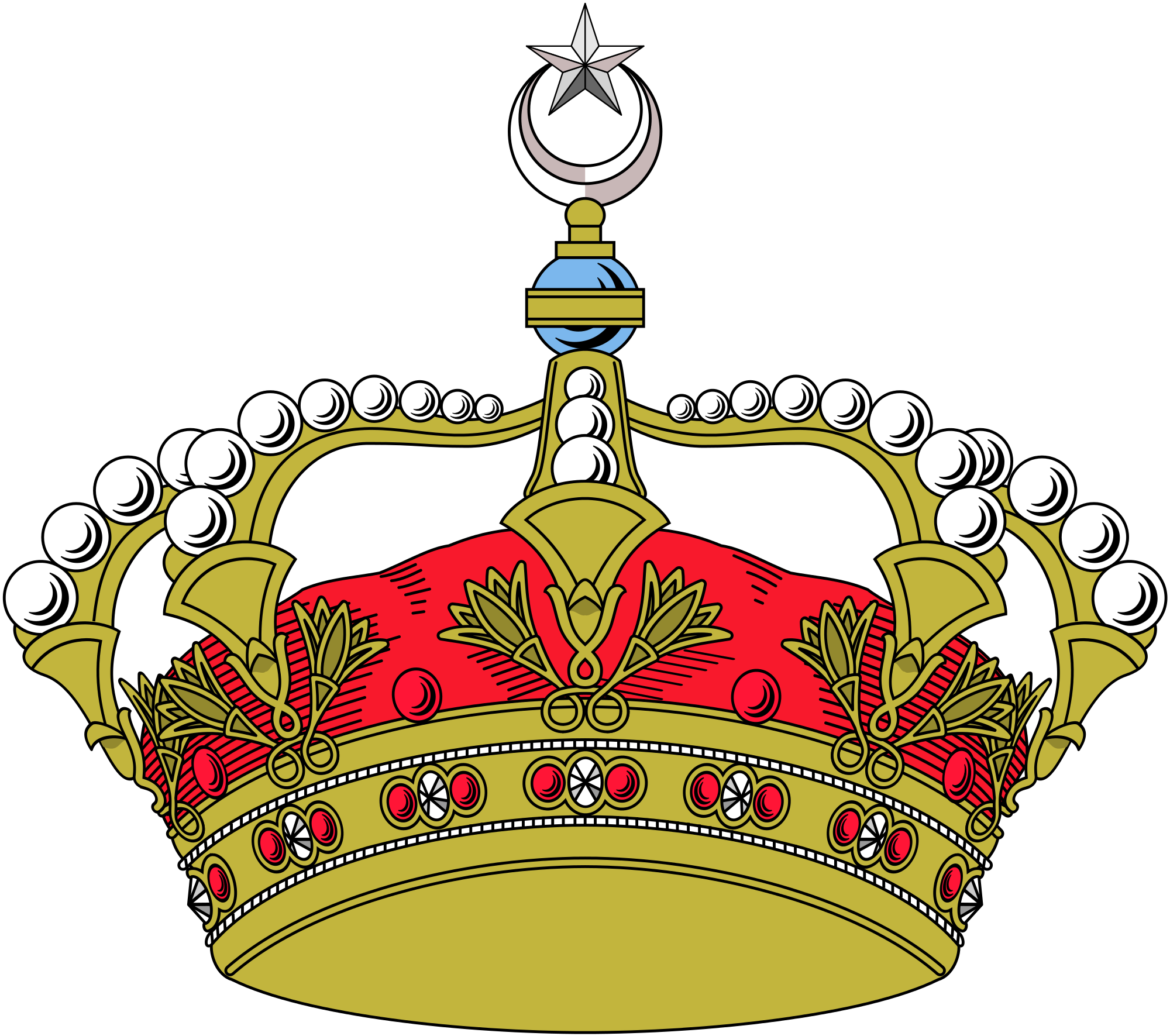 File royal of svg. Egypt clipart egyptian crown