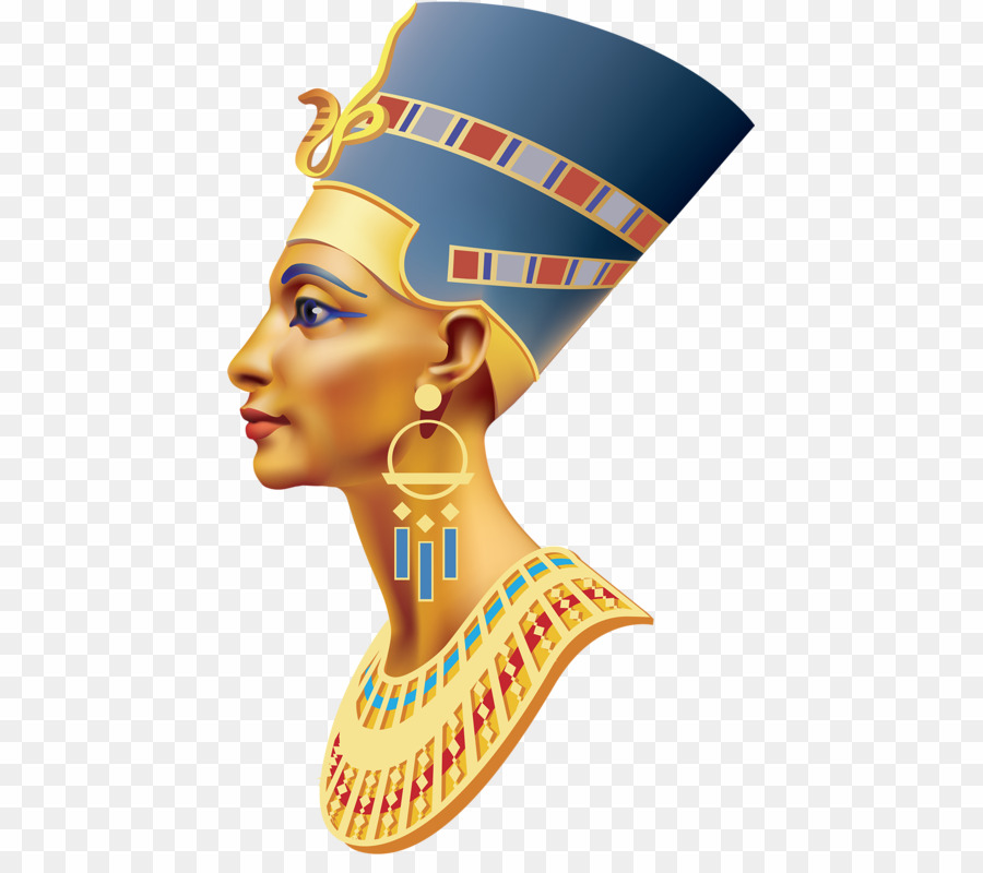 Egypt clipart egyptian crown. Queen png ancient nefertiti