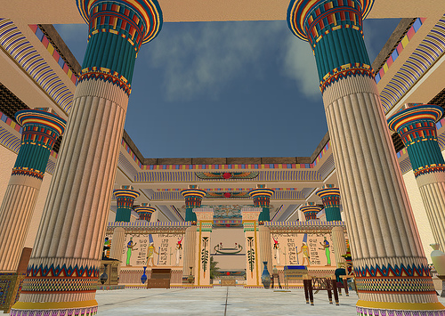 Mesopotamian and culture s. Palace clipart egyptian palace
