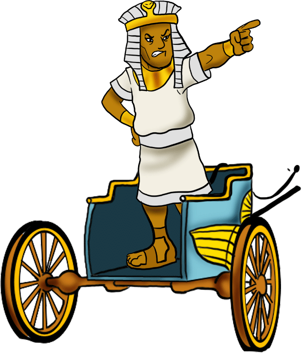 Hat clipart pharaoh. Worked the hebrew slaves