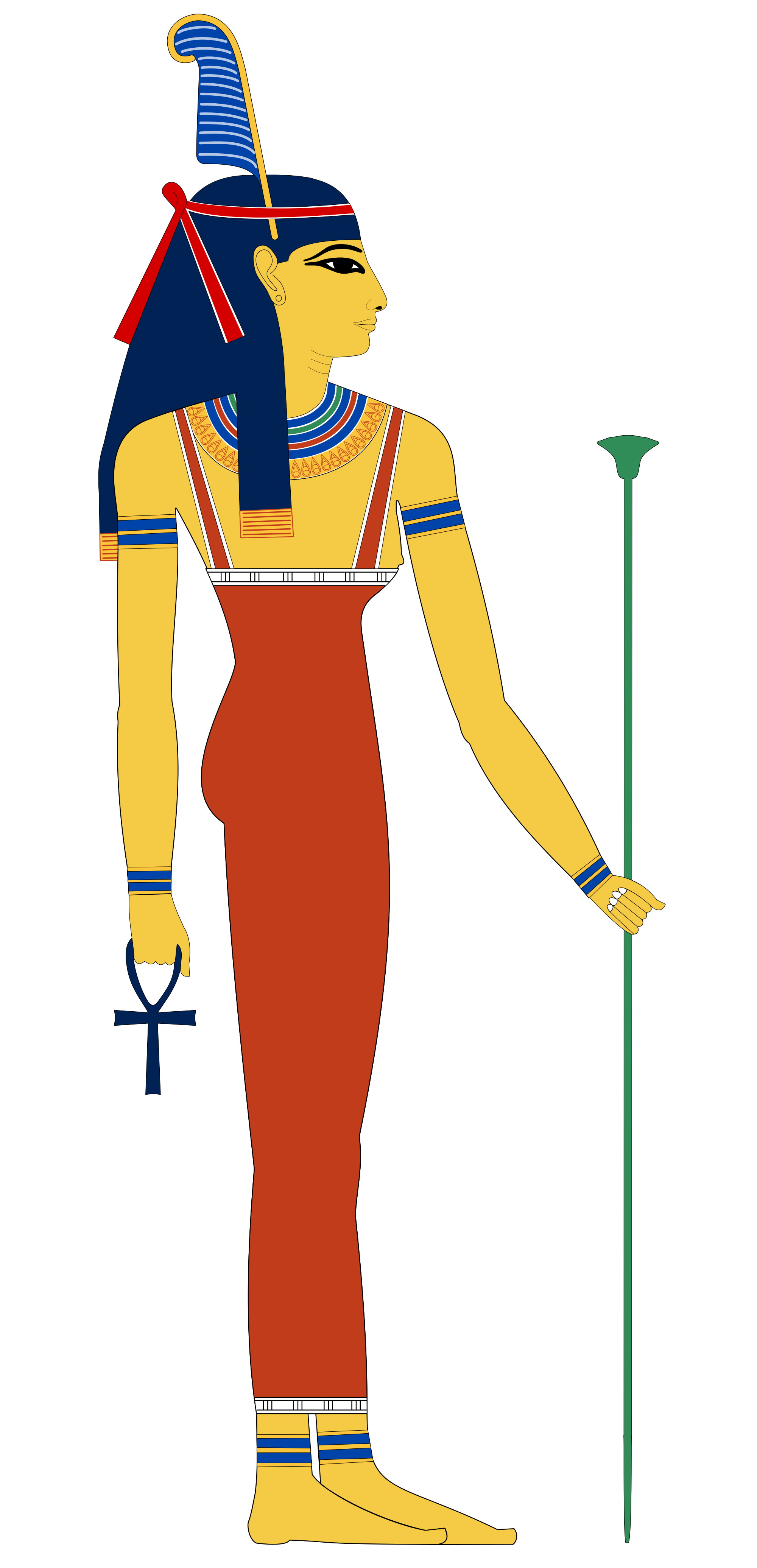 Egypt clipart girl egyptian. Ancient vii position of