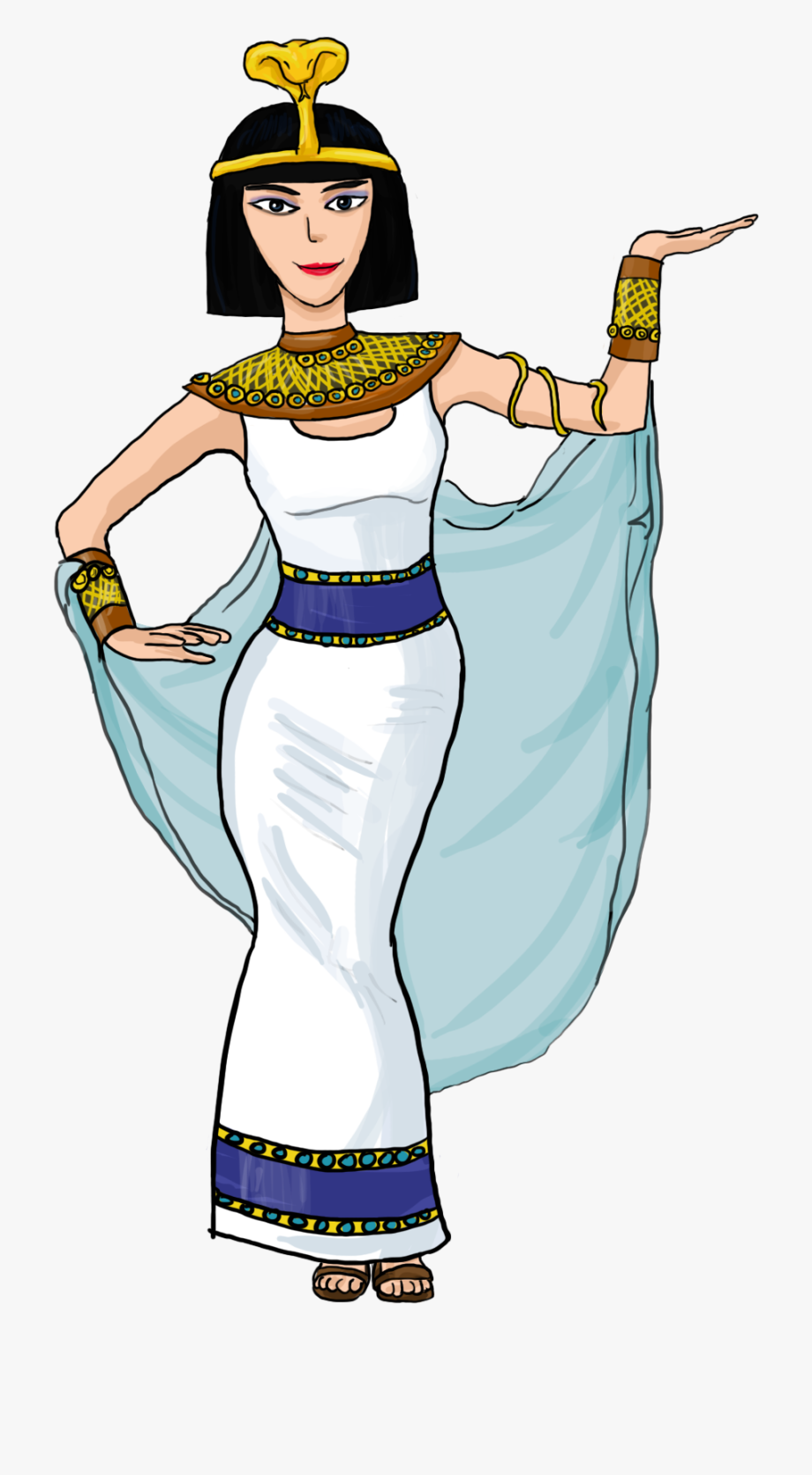 Costume cleopatra free . Egypt clipart girl egyptian