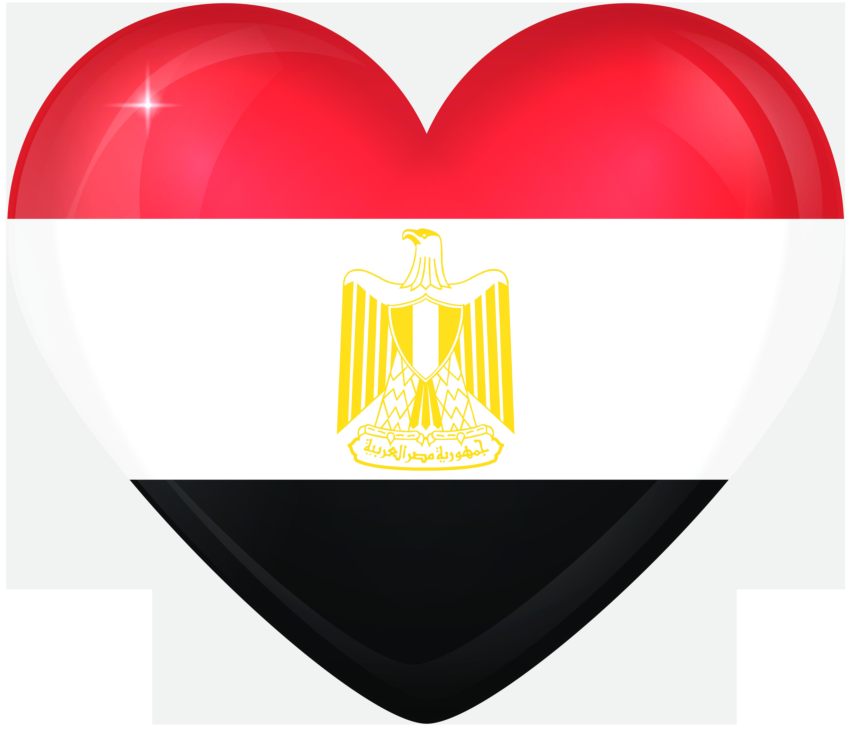 Large heart flag gallery. Egypt clipart halloween
