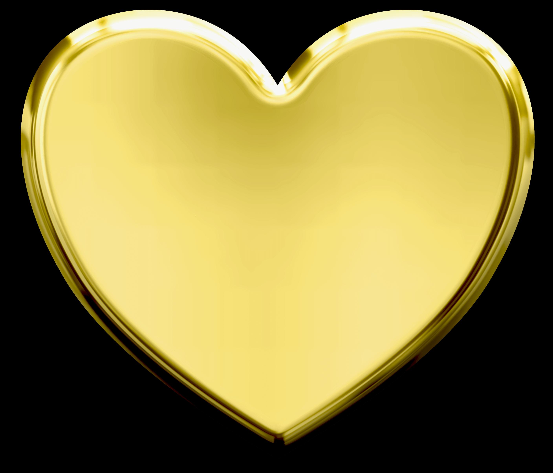 Heart clipart script. Gold clip art golden