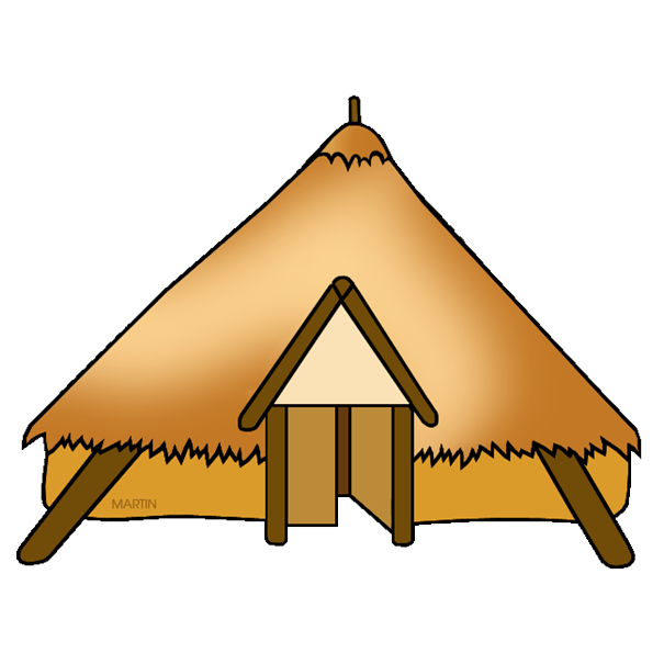 Celts ancient egypt celtic. Houses clipart yellow