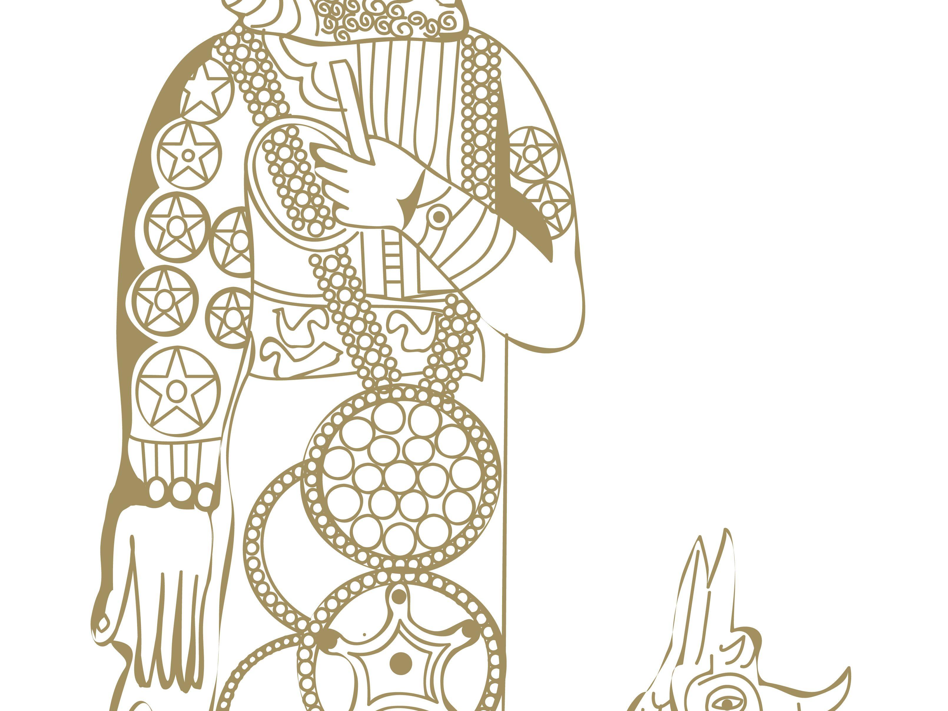 Egypt clipart mesopotamian god. Marduk the creation