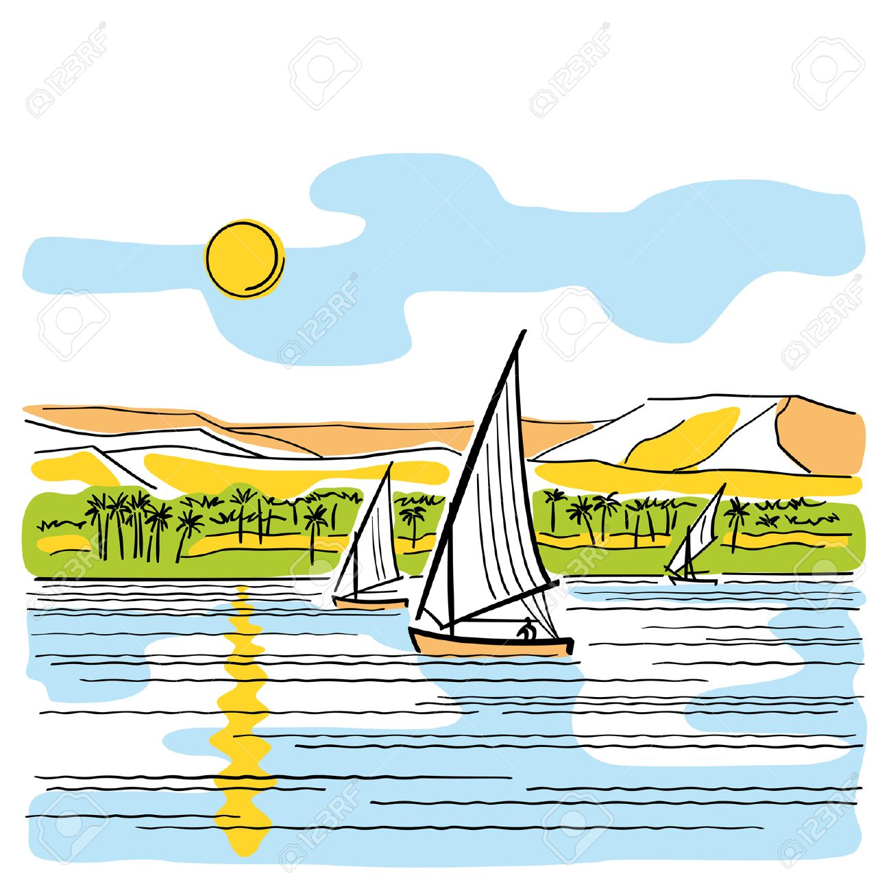 Egypt clipart nile river. Collection of free download