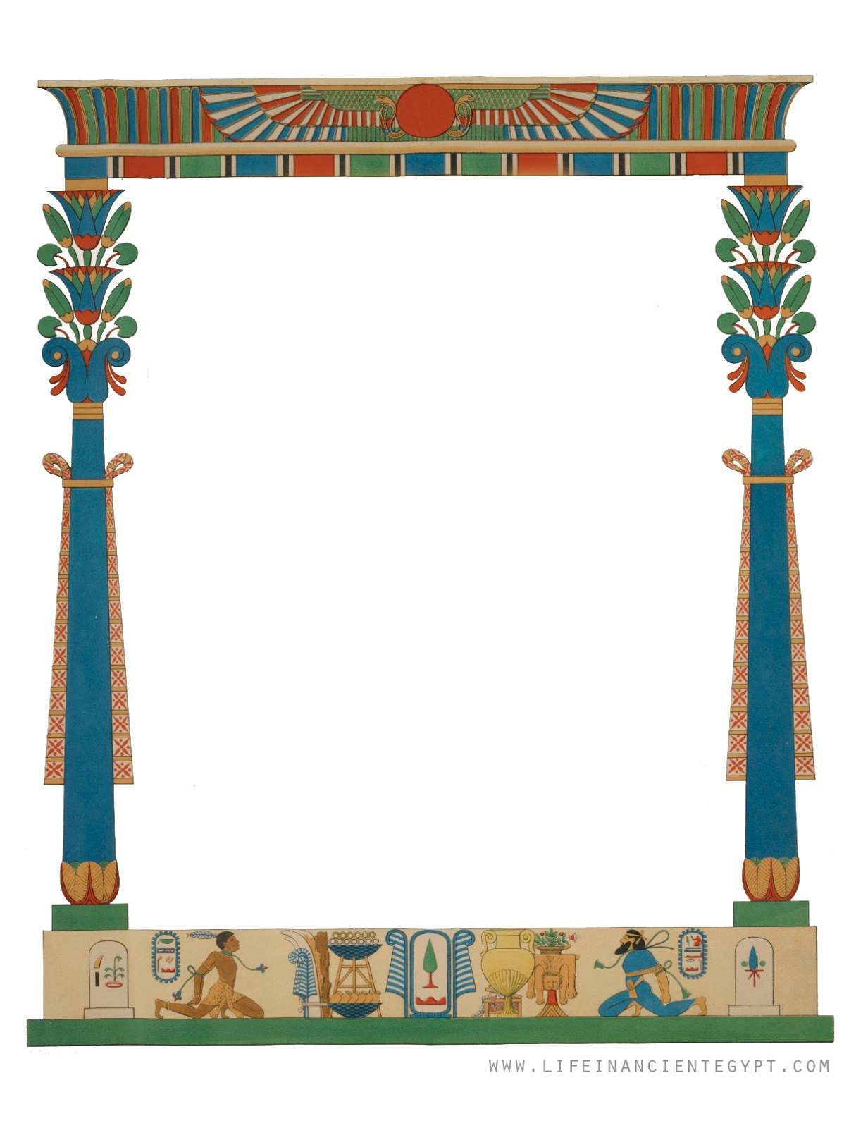 egypt clipart paper
