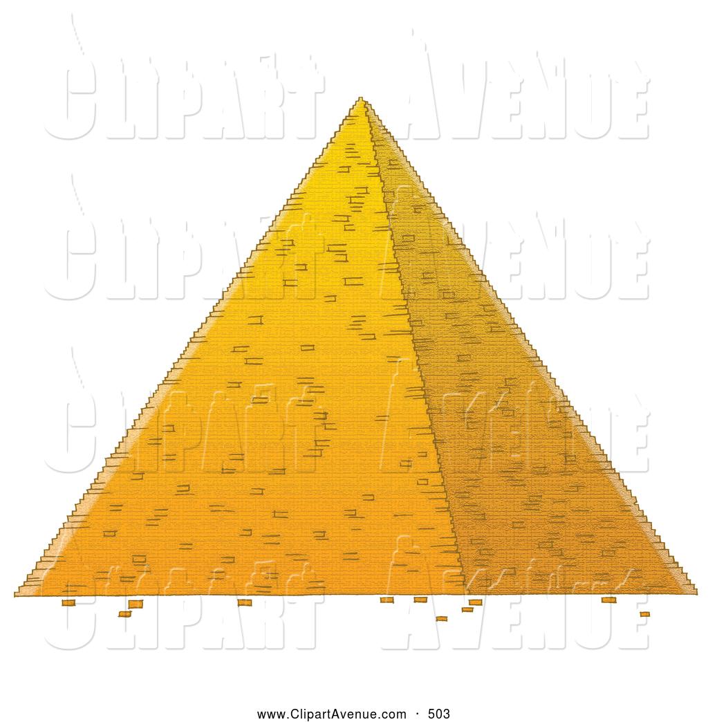 Egyptian clipart pyramid. Avenue of a tall