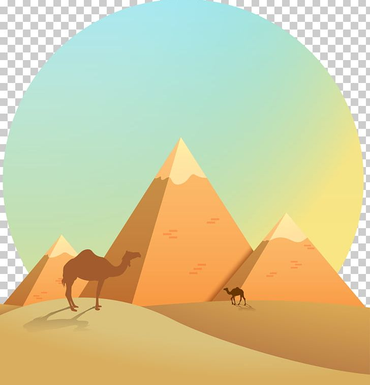 Egypt clipart pyramids illustration. Download for free png