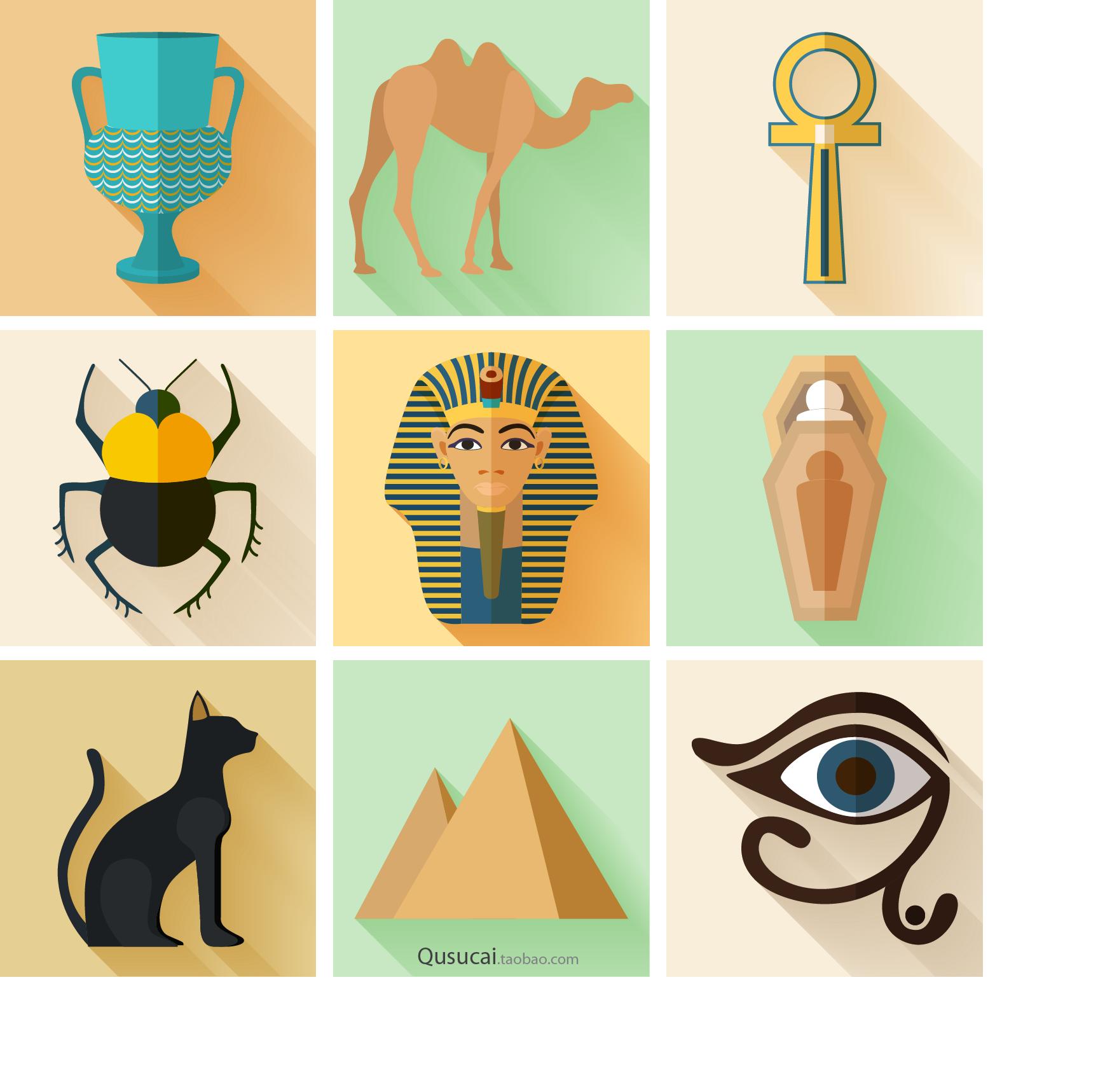 egypt clipart pyramids illustration