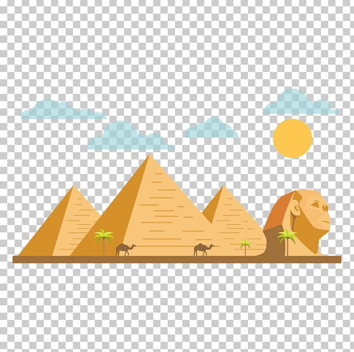 egypt clipart pyramids illustration