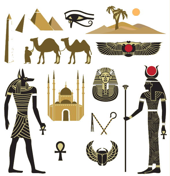 Egypt clipart pyramids illustration. Egyptian great pyramid of