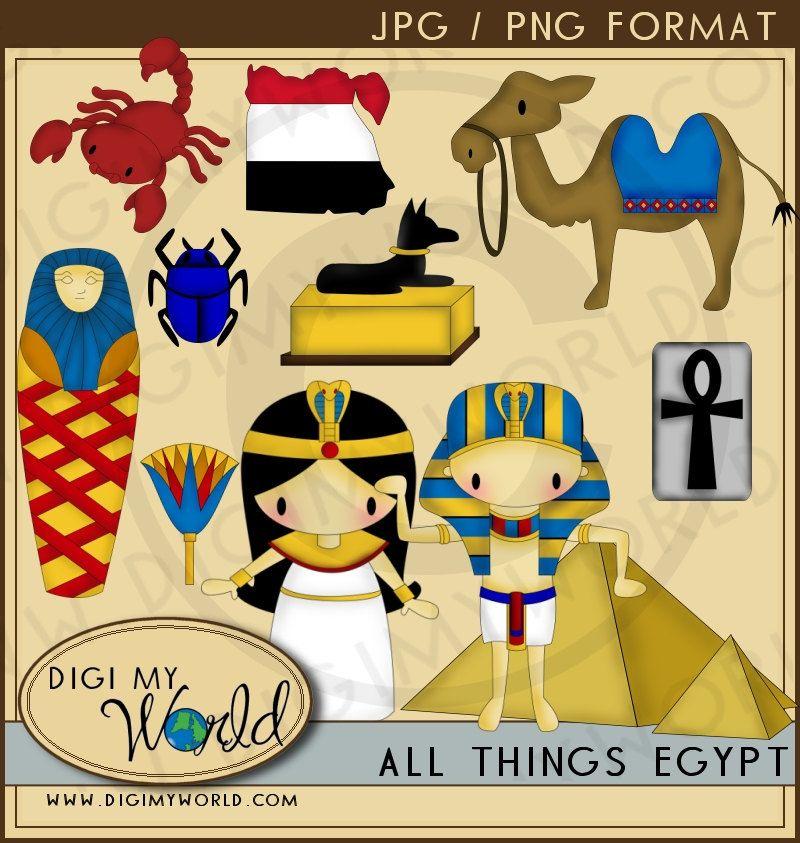 Egypt clipart scrapbook. Pin by miss jenny