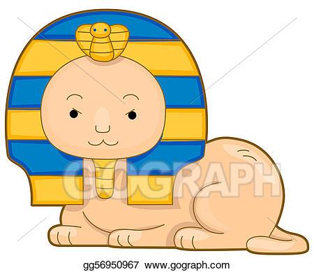 Sphinx stock illustration gg. Egypt clipart sphynx