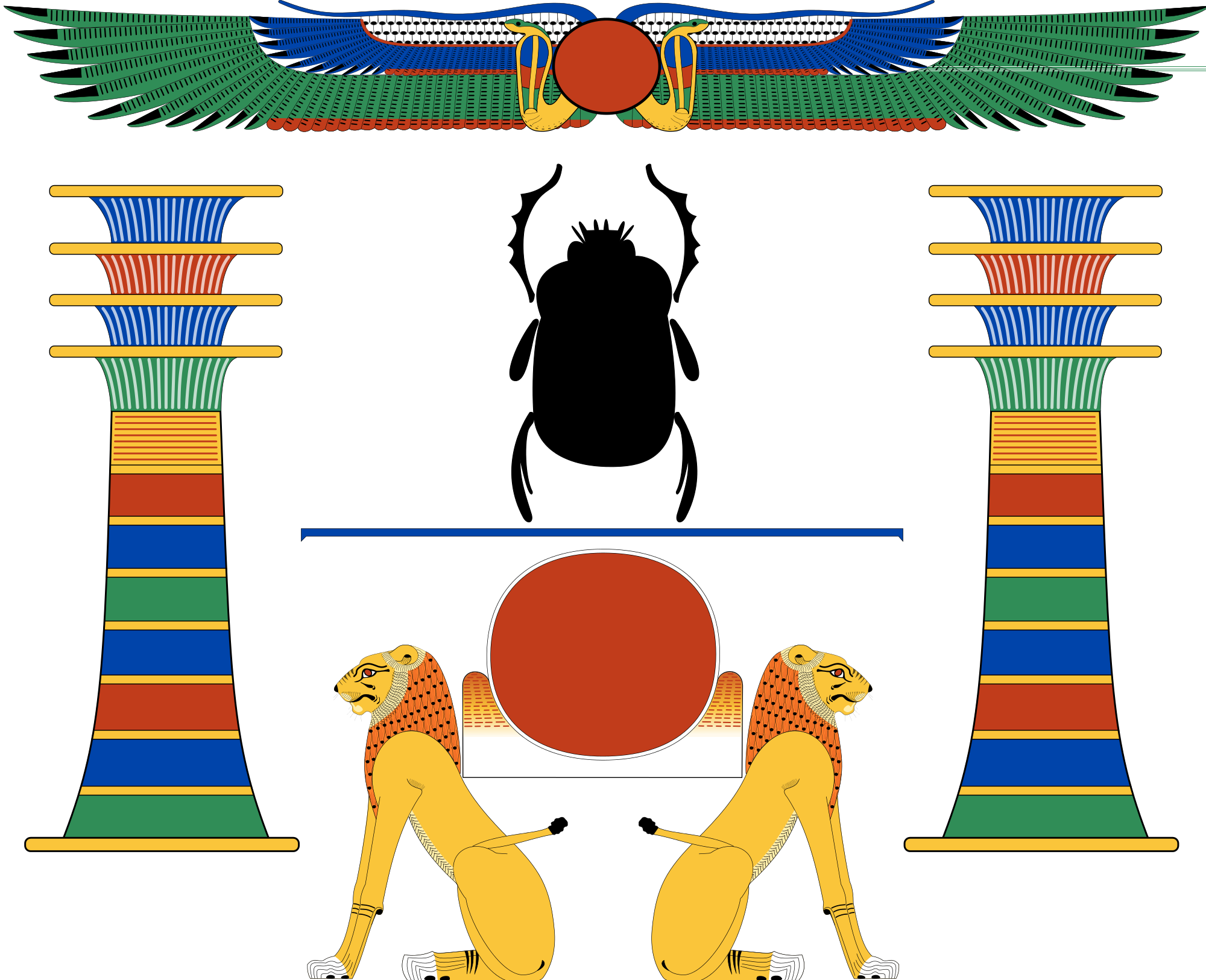 File combinations svg wikimedia. Insects clipart ancient egypt