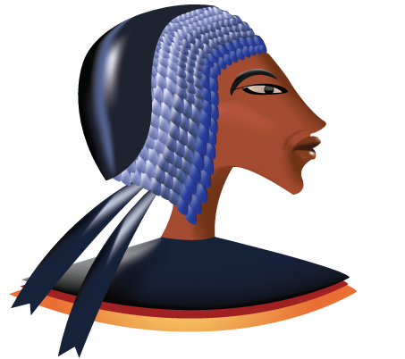 Egyptian clipart. Ancient clip art kingtutone