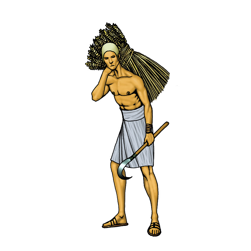 Farmers clipart ancient farming. Egyptian farmer