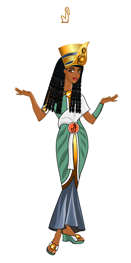 Egypt dress by trickstergames. Egyptian clipart egyptian princess