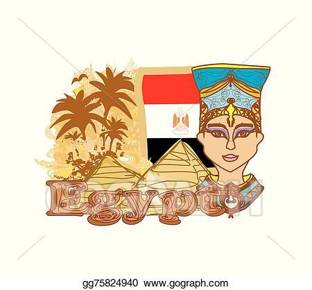 Clip art vector queen. Treasure clipart egyptian treasure