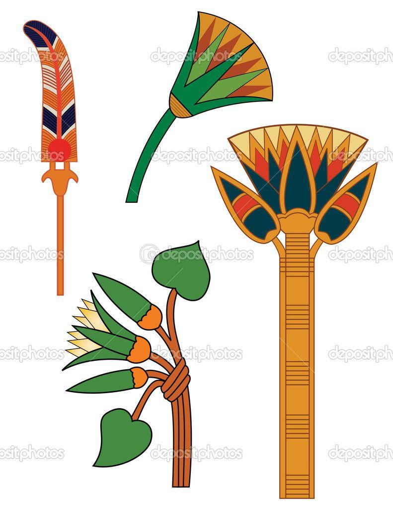 X dumielauxepices net . Egyptian clipart flower