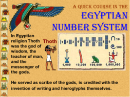 Power point worksheet collection. Egyptian clipart number system
