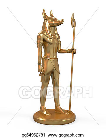 Egyptian clipart statue egyptian. Drawing anubis gg