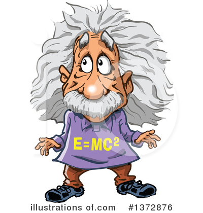 Illustration by clip art. Einstein clipart