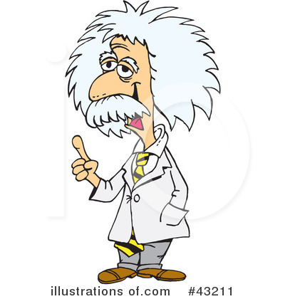 Einstein clipart. Albert illustration by dennis