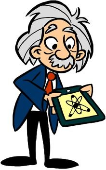 Einstein clipart. Clip art and albert