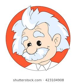 Station . Einstein clipart cartoon