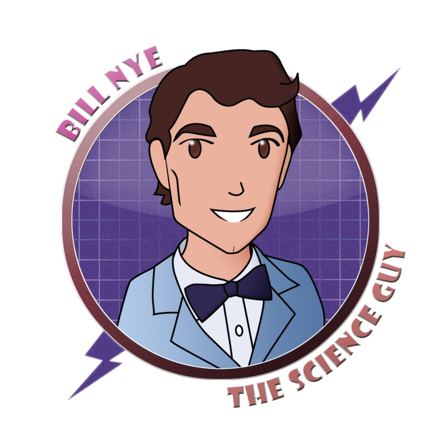 Scientists bill nye by. Einstein clipart chibi