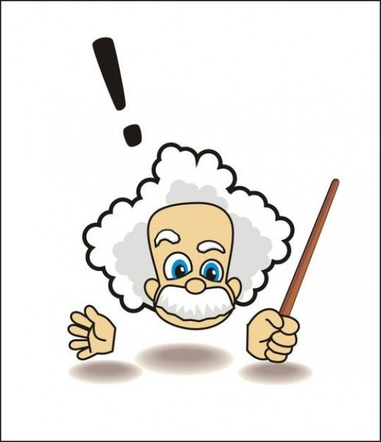 . Einstein clipart college math