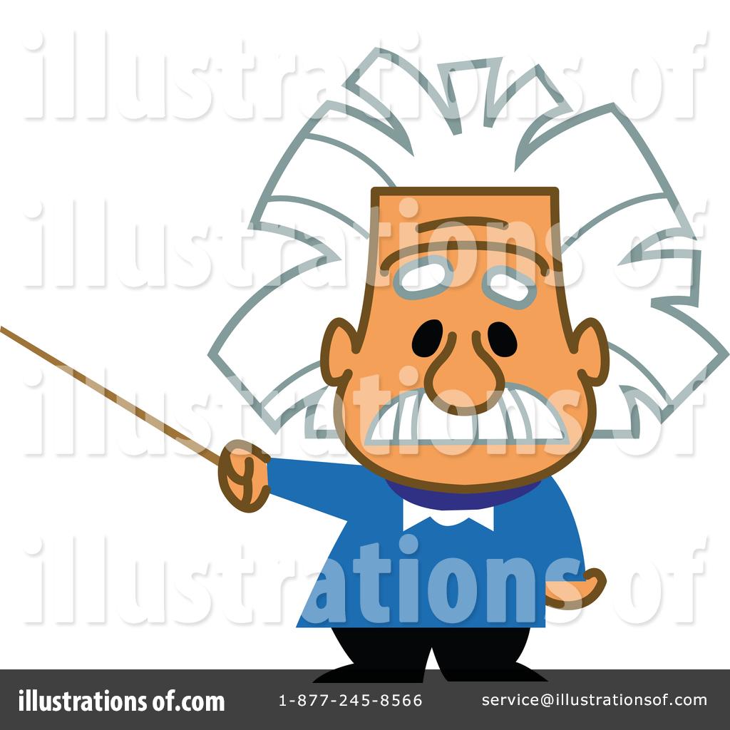 Illustration by clip art. Einstein clipart easy
