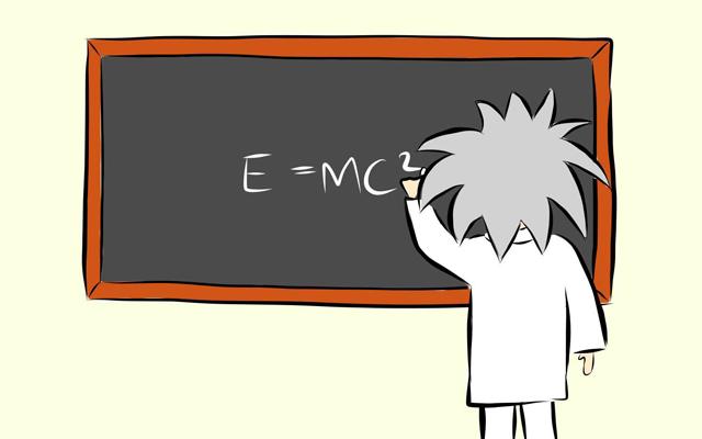 Einstein clipart emc2. E mc everything is