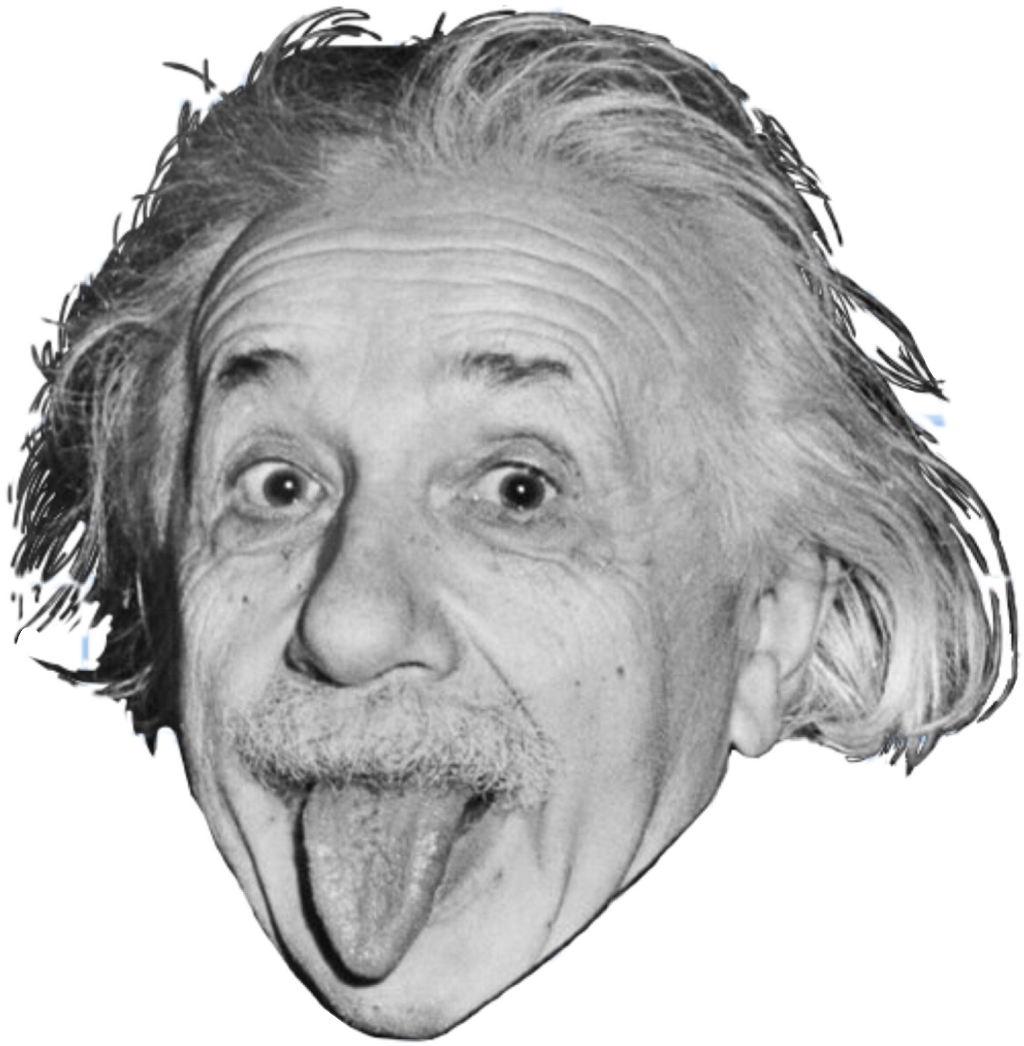Albert picsart mcdonalds felixthecat. Einstein clipart face