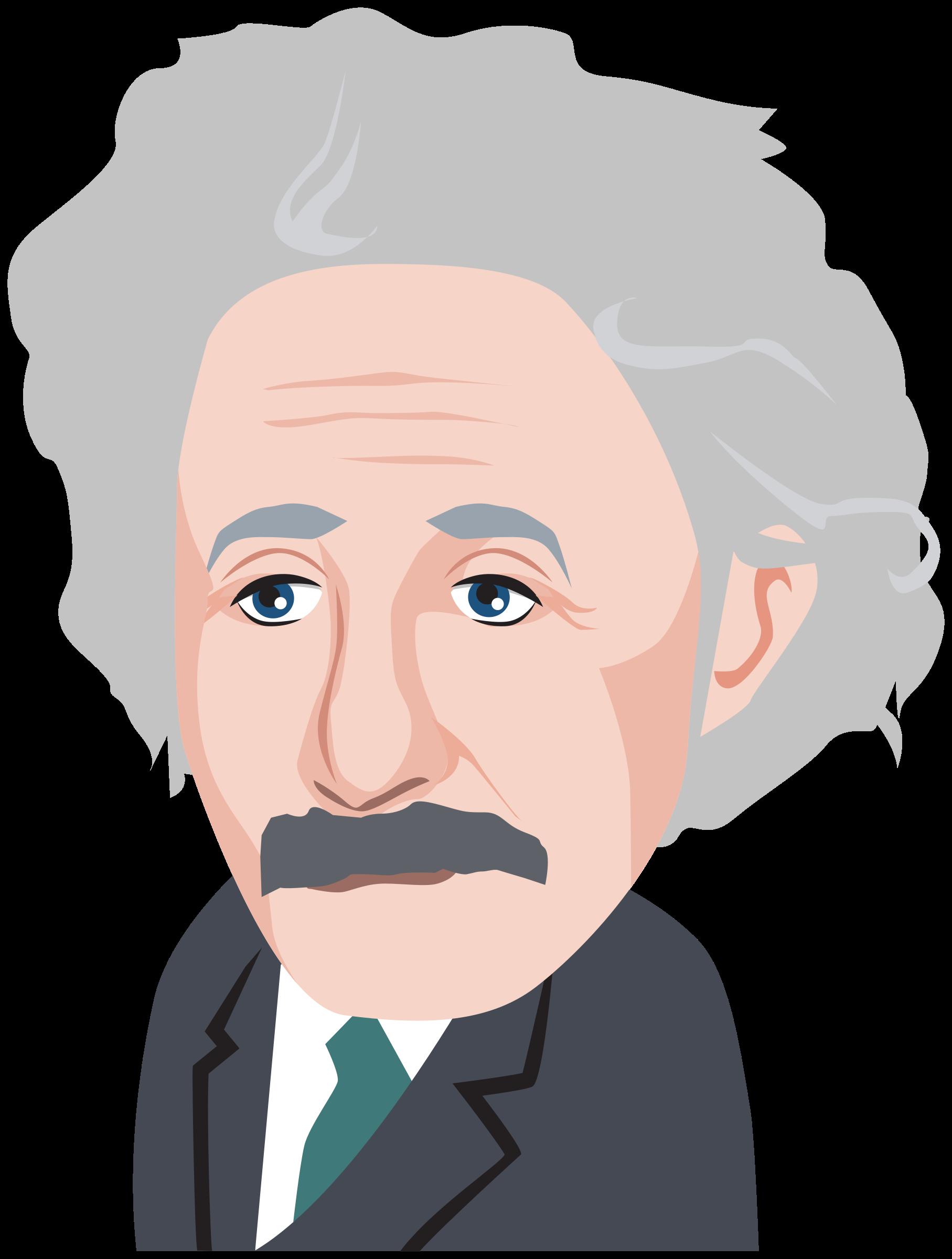 Einstein clipart face. Albert big image png