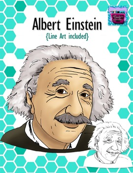 Einstein clipart famous person. Albert realistic image