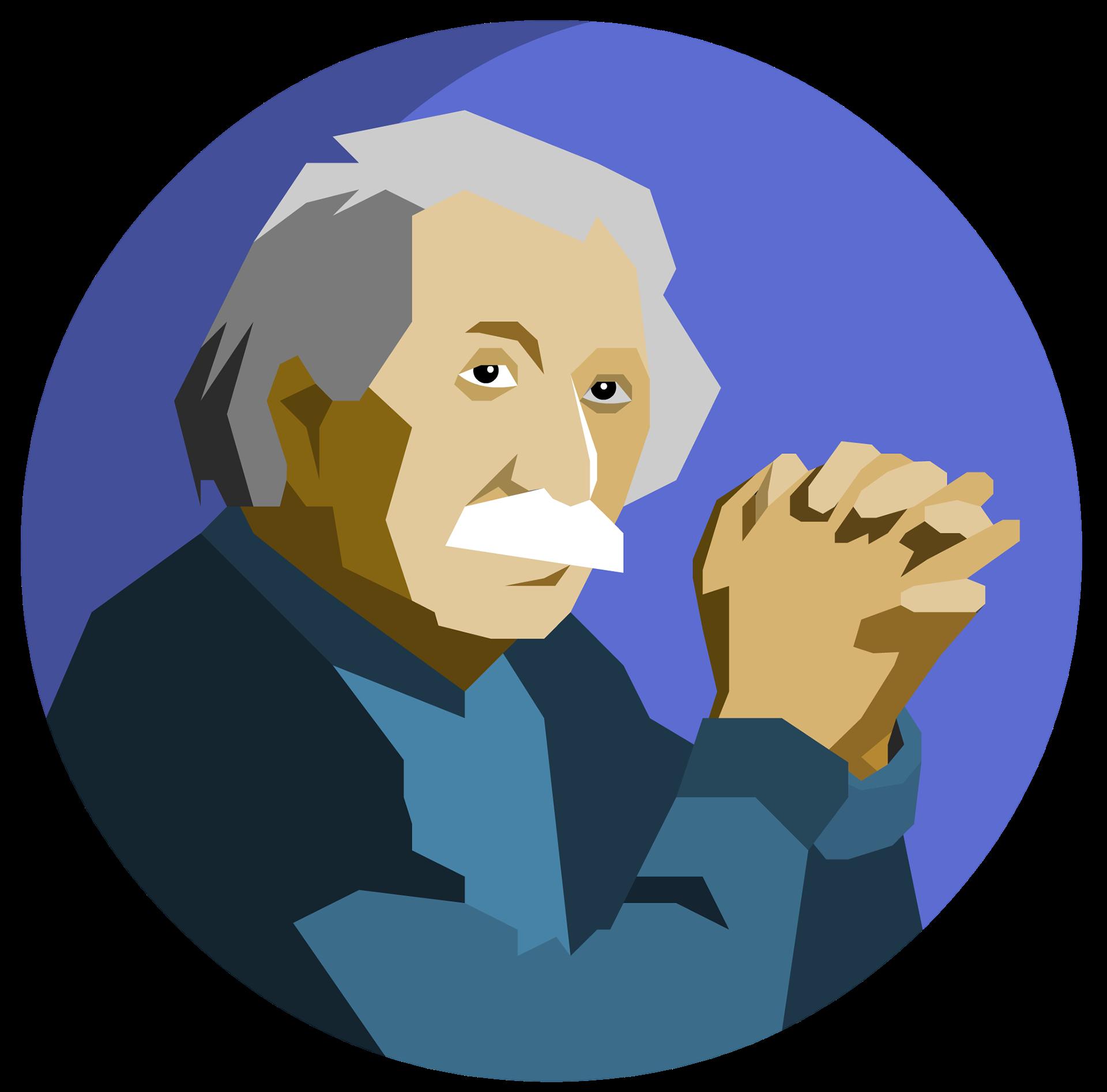 Mahmoud zaini avatars albert. Einstein clipart famous person