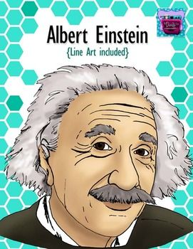 Albert realistic image science. Einstein clipart famous scientist