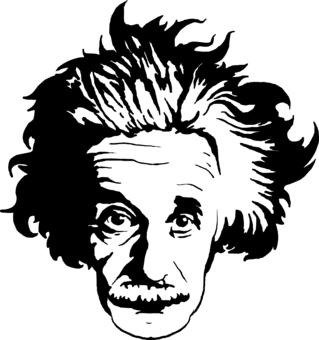 Free cliparts hauir download. Einstein clipart head