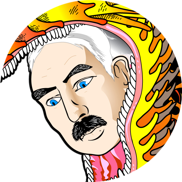 Ottonium comics ernest rutherford. Einstein clipart head