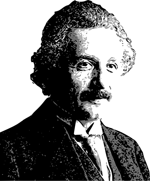 Einstein clipart head. Albert i royalty free