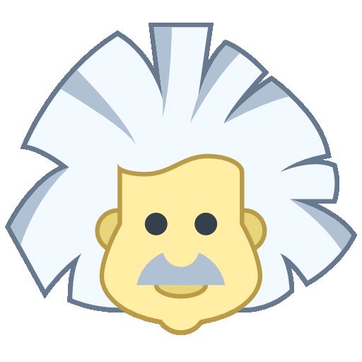Clip art library . Einstein clipart icon