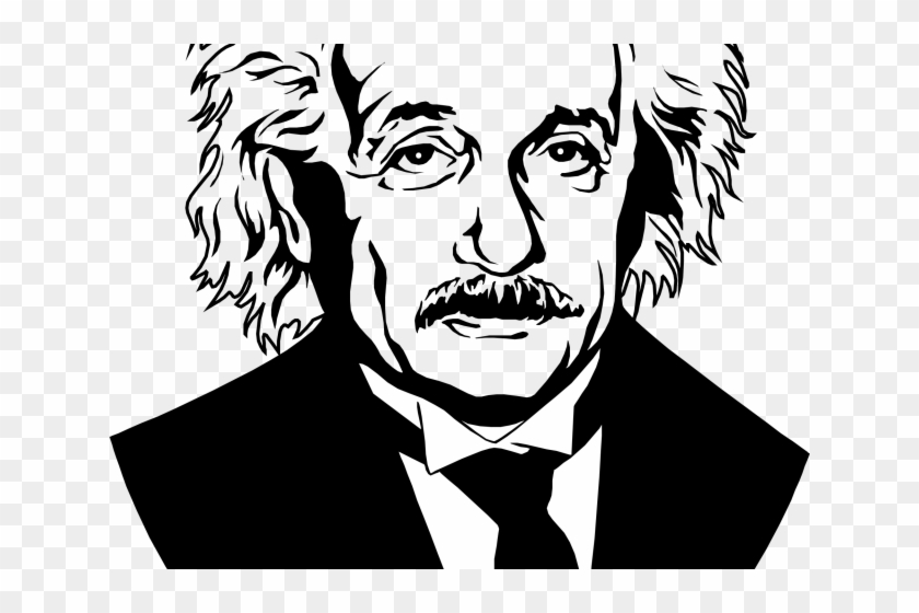 Einstein clipart line drawing. Albert hd png download