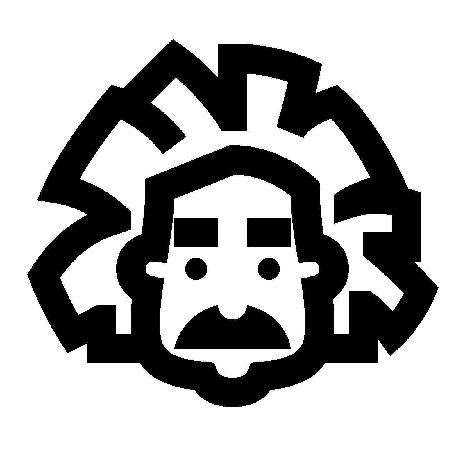 Einstein clipart mustache. Computer icons scientist notation