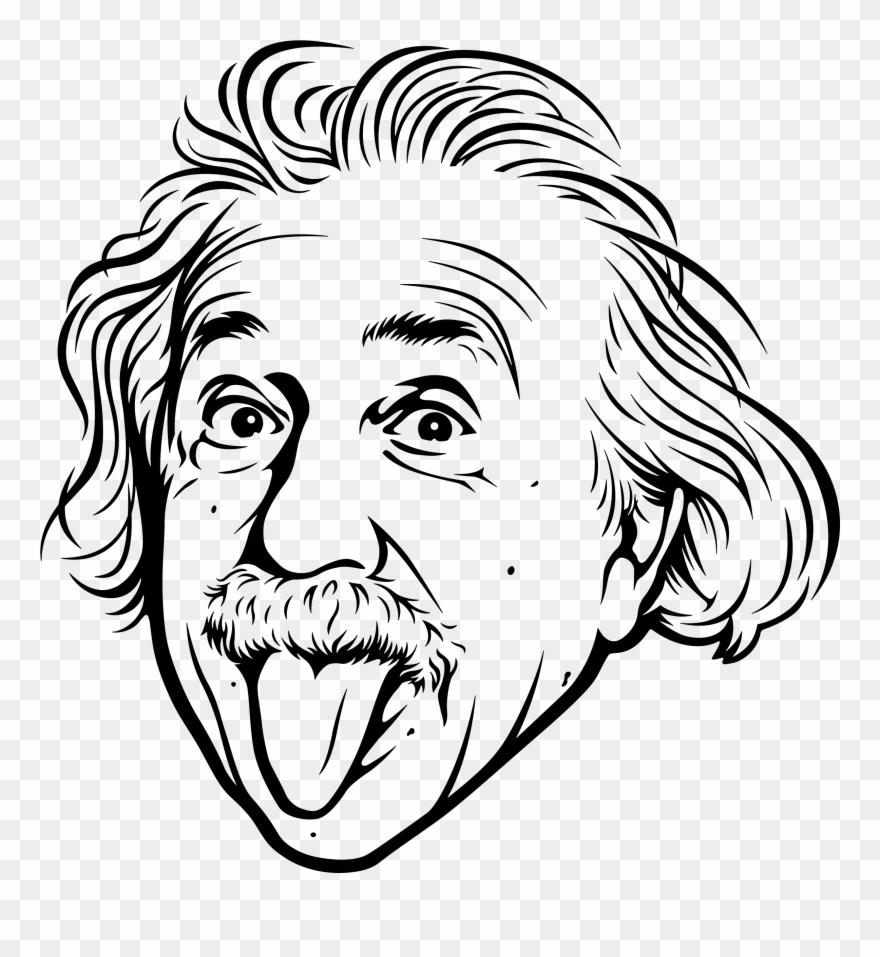 Alt art illustrations illustration. Einstein clipart painting